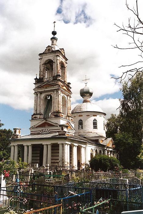 Троицкая церковь. Село Введенское,. Ярославская область.