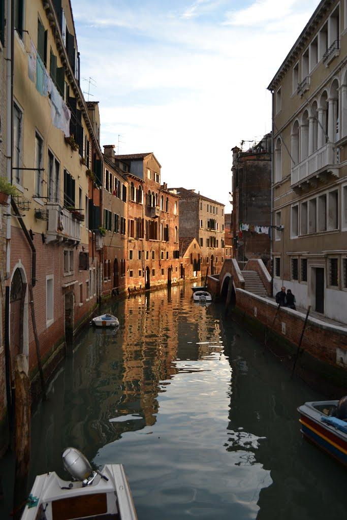 венеция каналы дороги