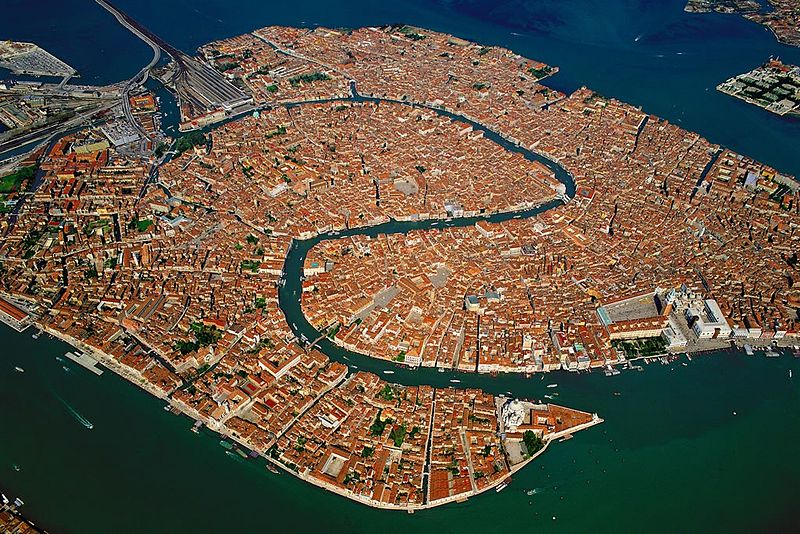 Венеция затонувший город