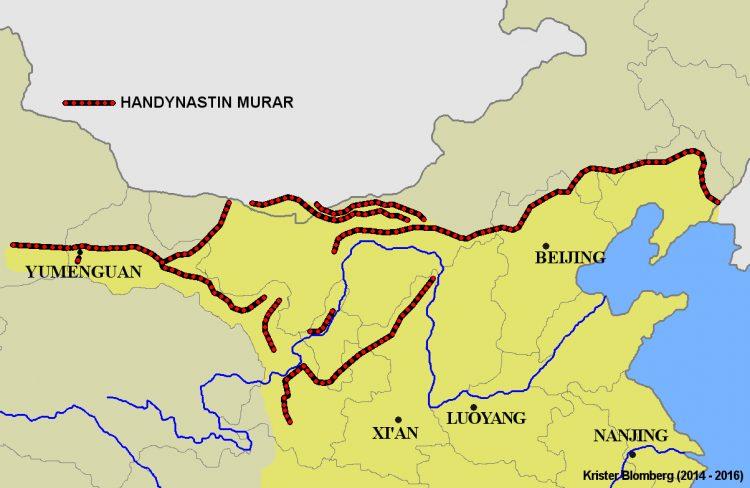 стена династии Хань
