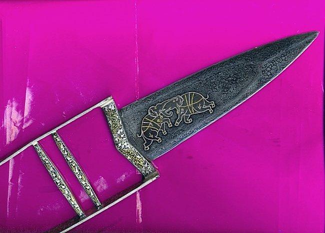 Катар - холодное оружие индусов и альбигойцев.