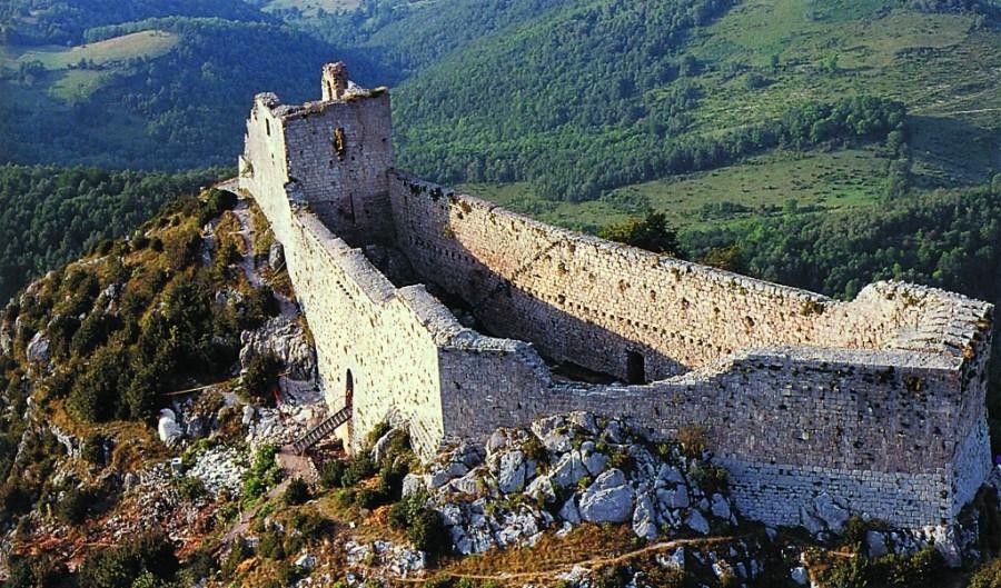 Руины замка Монсегюр