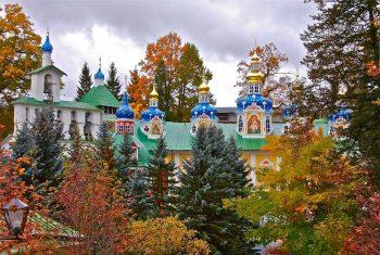 Свято-Успенский Псково-Печерский православный мужской монастырь.