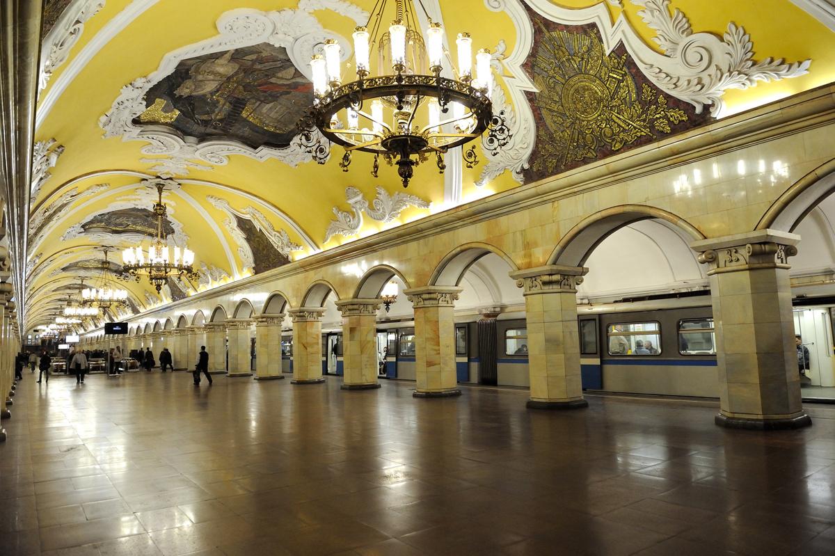 Архитектура и дизайн метро курская