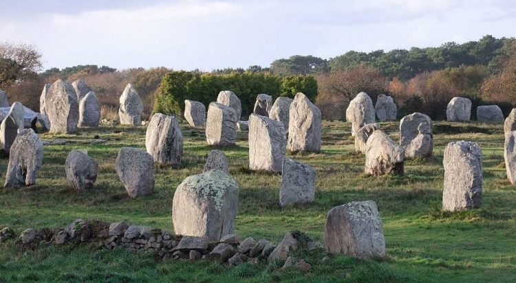 Мengire in der Provinz Bretagne, Frankreich.