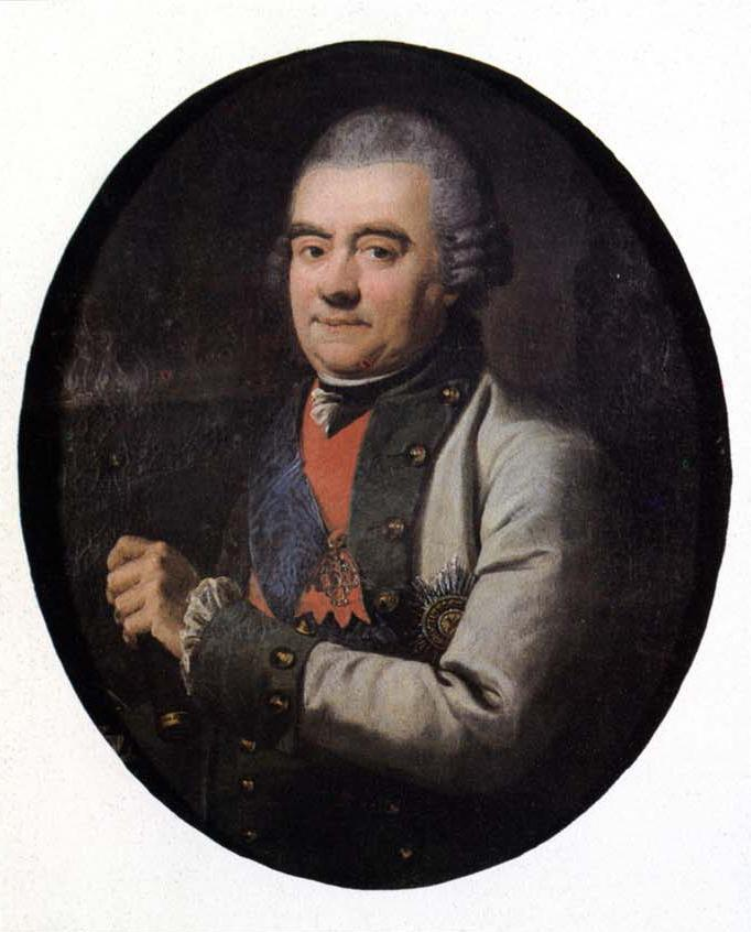 Адмирал Григорий Андреевич Спиридов