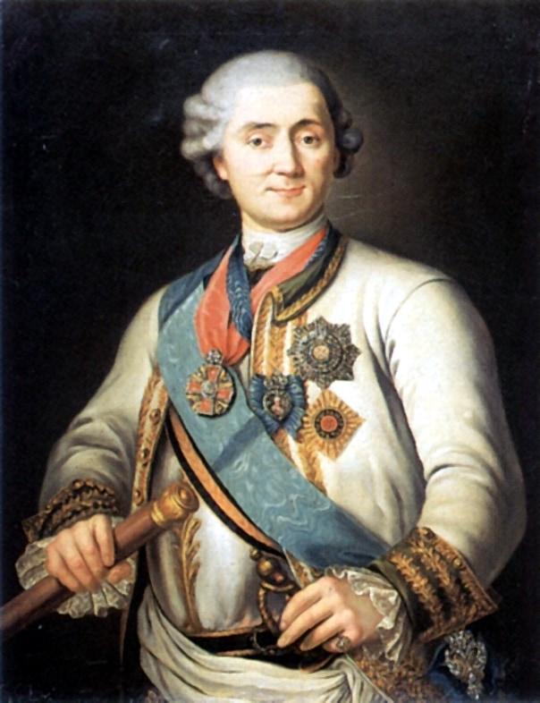 Граф Алексей Григорьевич Орлов-Чесменский