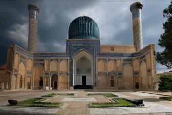 Мавзолей Тамерлана Гур-Эмир в Самарканде. Узбекистан.