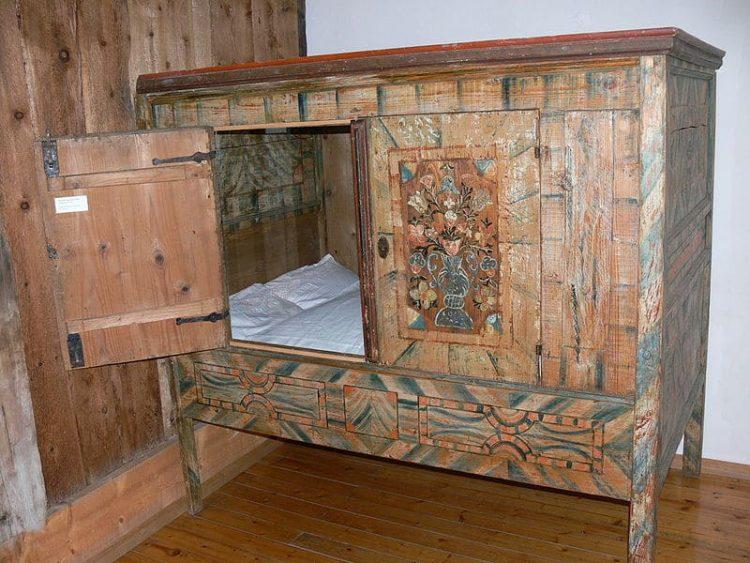 голландская кровать