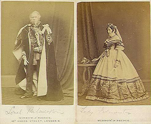 Лорд Пальмерстон с женой