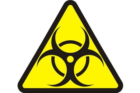 Знак биологической опасности