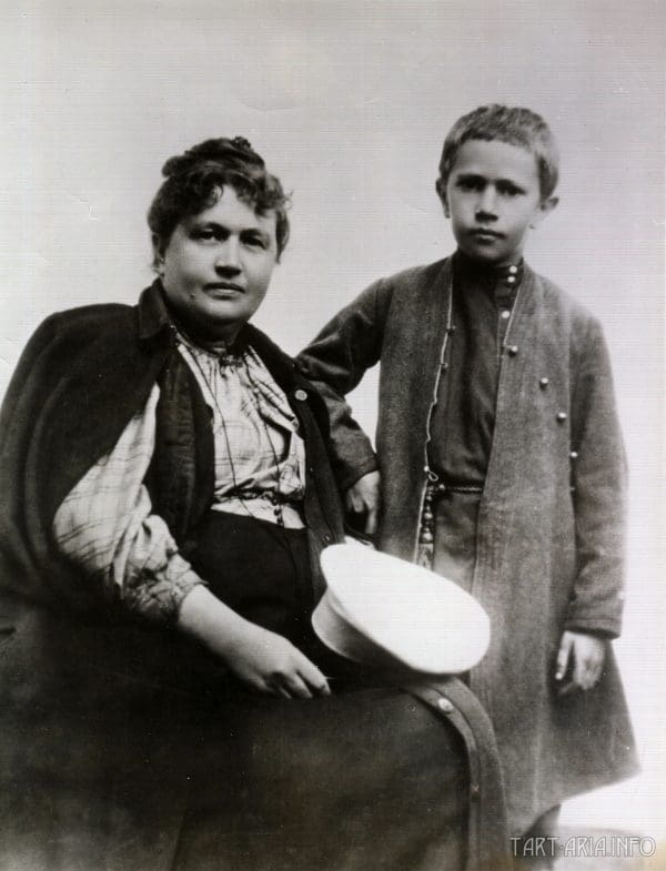 Александра Бостром и Алексей Толстой