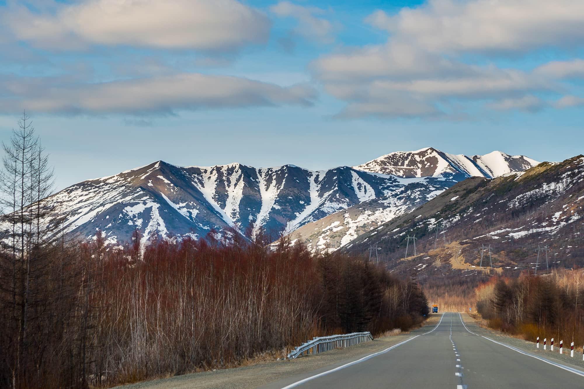 80-й километр Колымской трассы