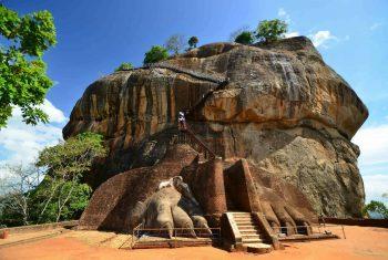 Скальный комплекс Сигирия. Шри Ланка
