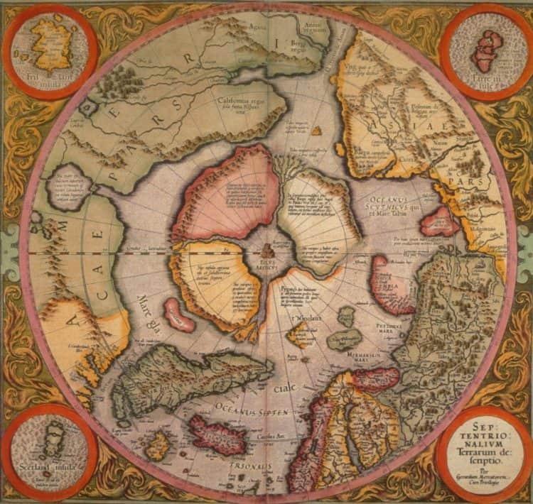 меркратор карта