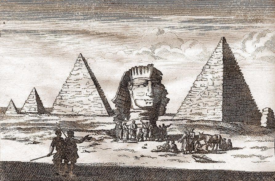 Гравюра. К. Бруин 1681