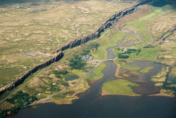 Национальный парк Тингвеллир. Исландия.