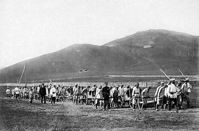 Красноярск. Фото конца 19 века.