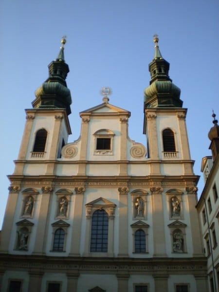 Иезуитская церковь в Испании