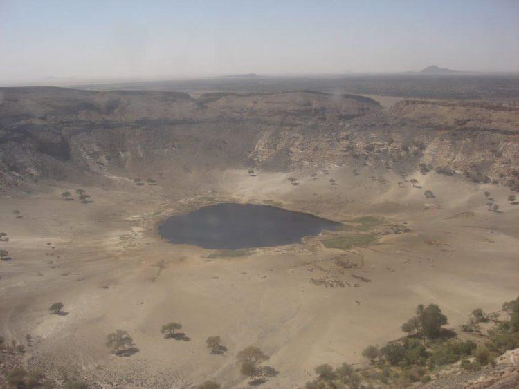 кратер потоп