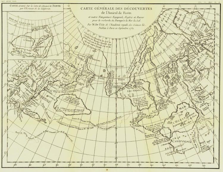 Карта. Сдвиг полюсов. Аляска и Северная Америка море Загадка