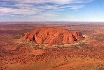 Сдвиг полюсов. Австралия гора Улуру