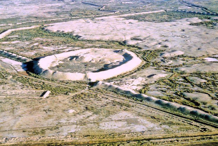 pozůstatky města Merv