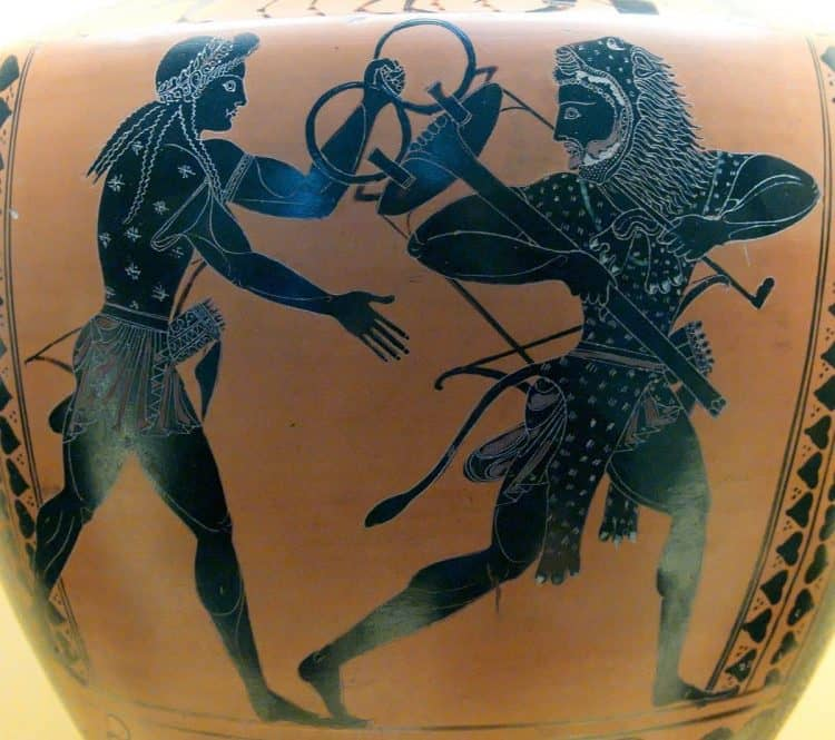 Геракл, Трипод