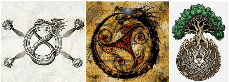 Уроборос - мировой змей