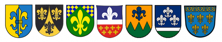 флерделизовые гербы