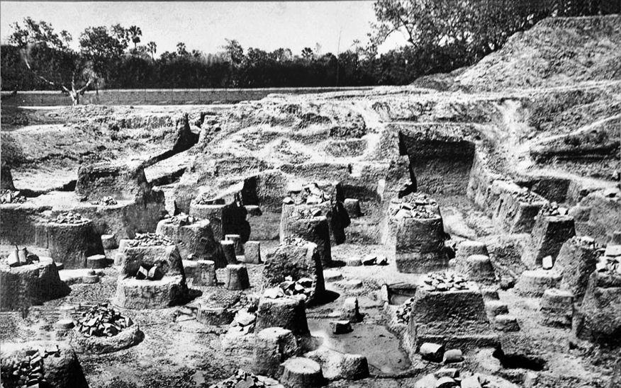 Руины Пататипутра