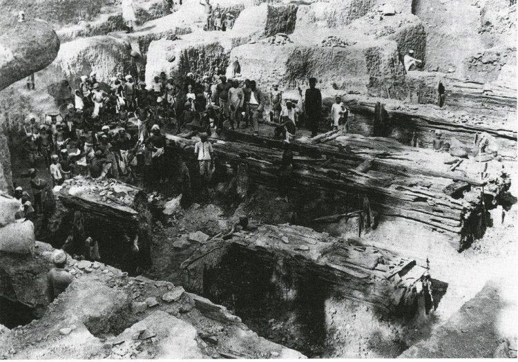 раскопки Индия