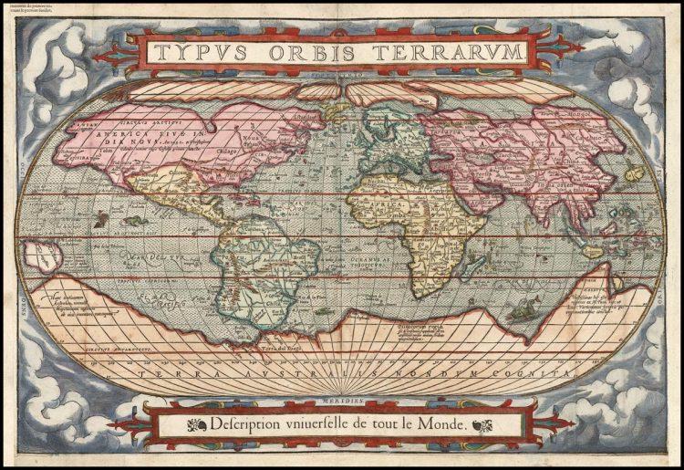 Карта Де Береаскущеффа 1575г.