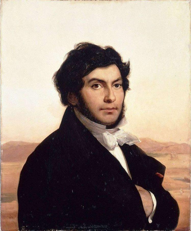 Жан-Франсуа́ Шампольо́н (фр. Jean-François Champollion) 1790-1832гг. Портрет кисти Леона Конье.