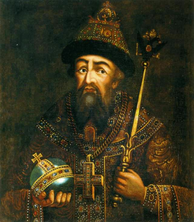 Tsar Ivan IV. the Terrible.