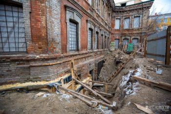 сибвед откопанные здания