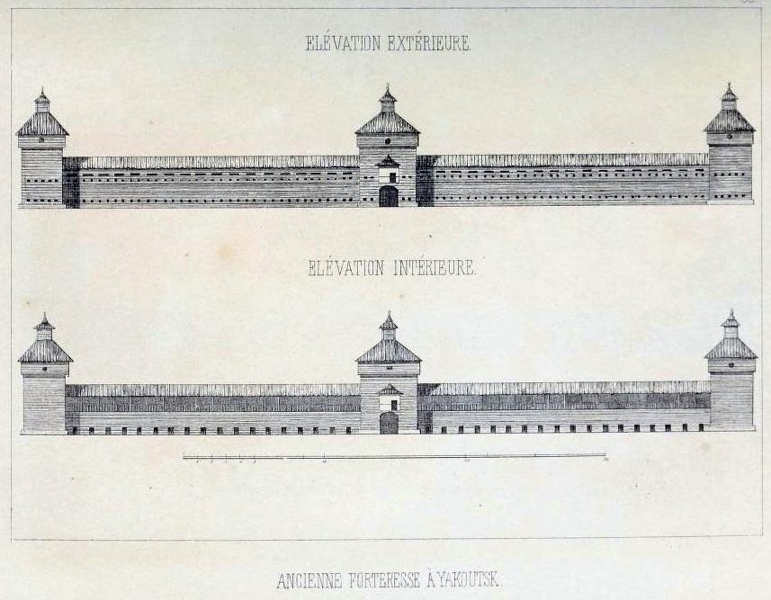 крепость Якутска