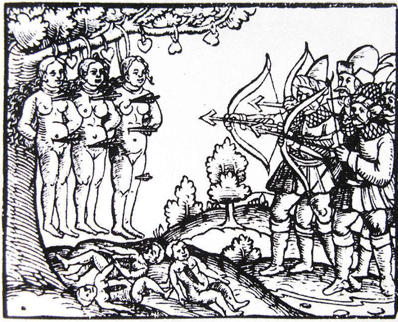 1558-1583. Moscovite atrocities in Livonia, XVI century.