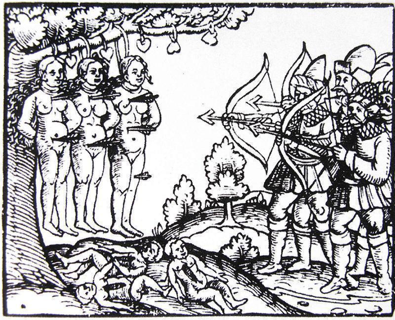1558-1583. Moscovite atrocities in Livonia, XVI century.