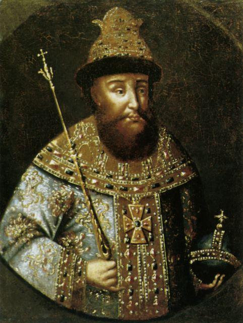 Портрет царя Ивана Грозного. XVIII век.