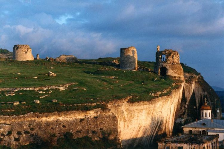 Inkermanská pevnost dnes
