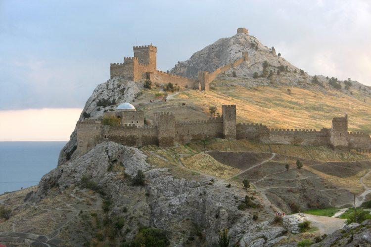 Pevnost v Sudaku dnes