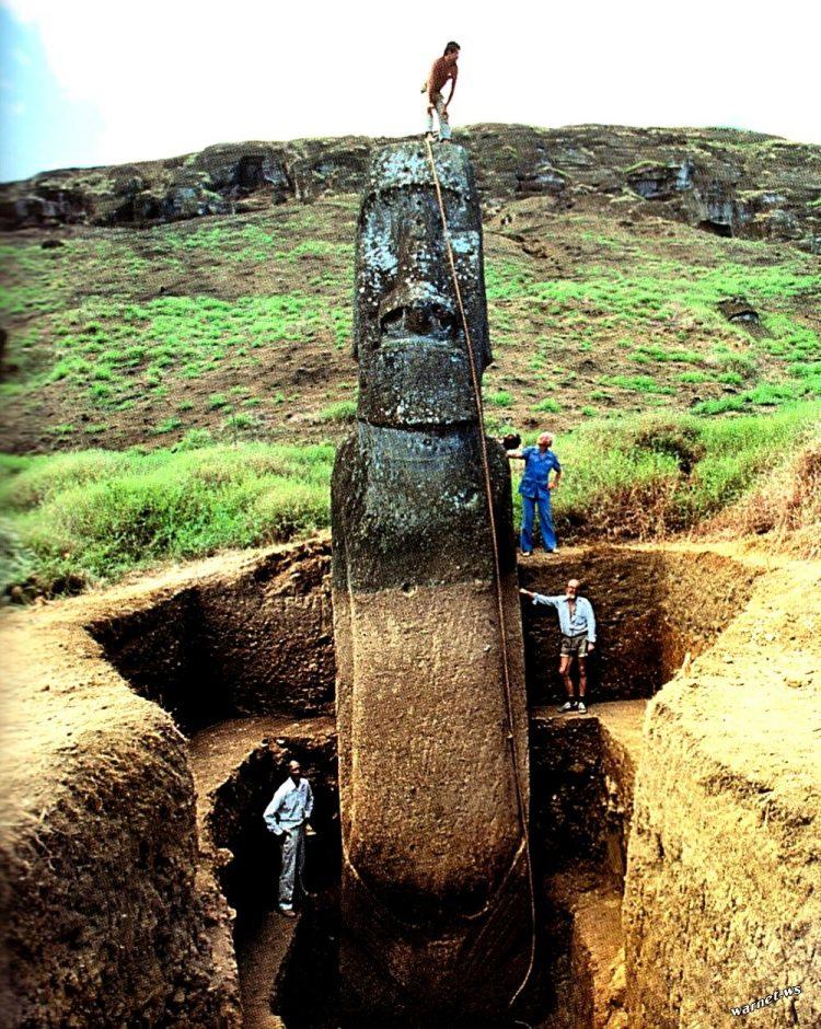 Моаи. Истукан острова Пасхи