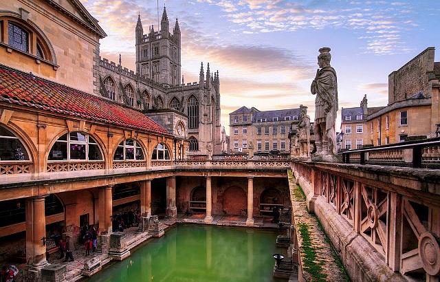 римские бани Бата