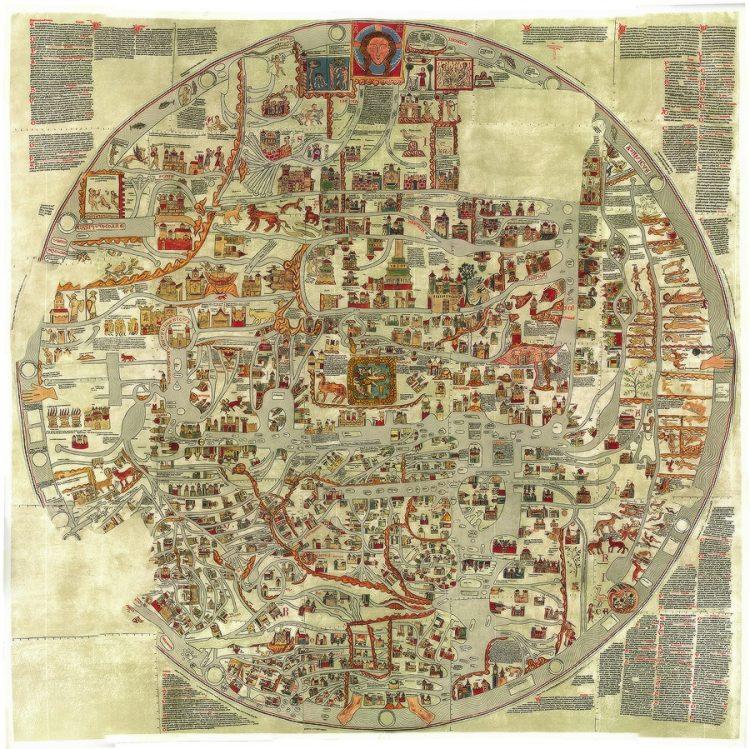 Эбсторфская карта