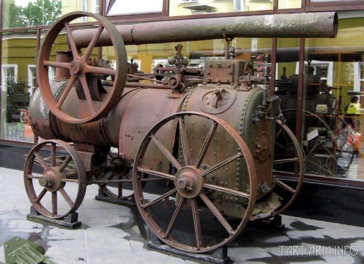 Локомобиль Ruston & Proctor в Музее техники Вадима Задорожного.