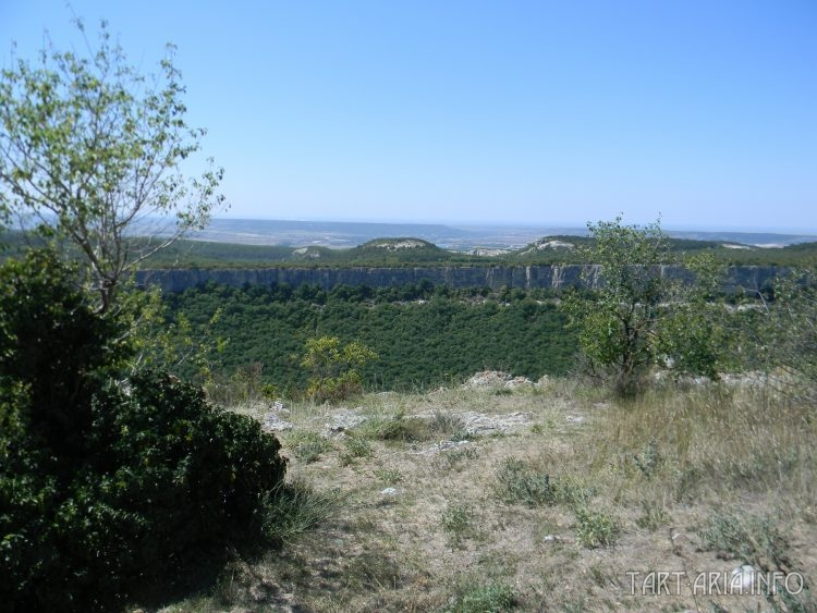 Окрестности столовой горы Тепе-Кермен. Крым