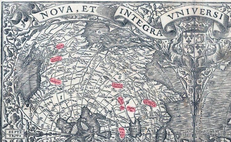 карта 1531