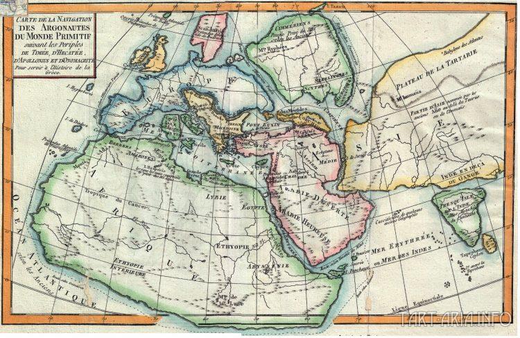Карта 1770