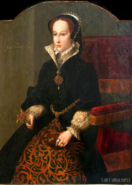 юная Мария Тюдор